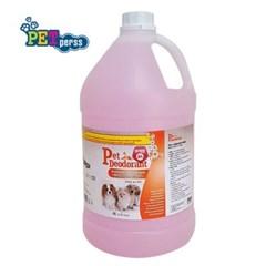 대용량 항.균탈취제 4L 부케향 애완동물 오줌살균