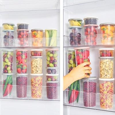 리뉴얼 써클킵 12종 세트 냉장,냉동 다용도정리용기