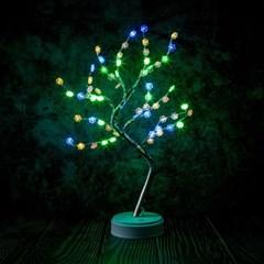 감성나무 LED 무드등(꽃잎) 트리 무선 테이블 조명
