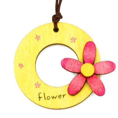봄 목걸이 만들기-꽃