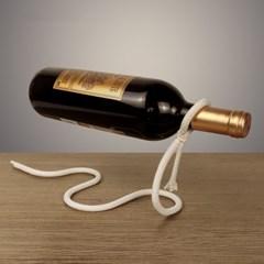 특이한 마법 마술 매직 밧줄 와인 거치대 와인랙 와인진열대