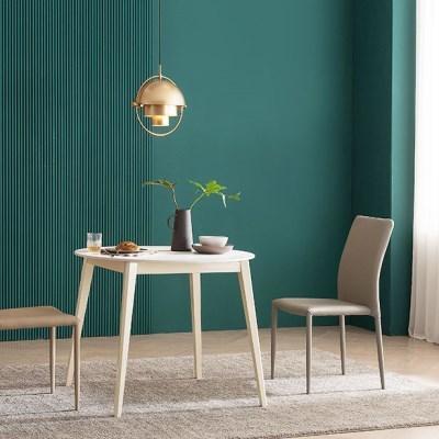 우유니 U89 세라믹 원형 2인 식탁세트(의자)