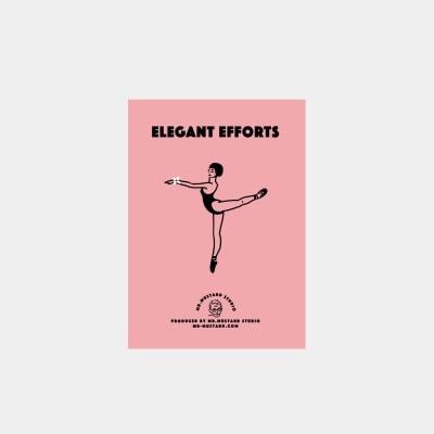 Elegant Efforts 미니카드 pink