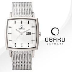 [OBAKU] 오바쿠 V134GCIMC 남성 메탈 손목시계