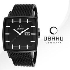 [OBAKU] 오바쿠 V134GBBMB 남성 메탈 손목시계