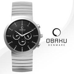 [OBAKU] 오바쿠 V131GCBSC 남성 메탈 손목시계