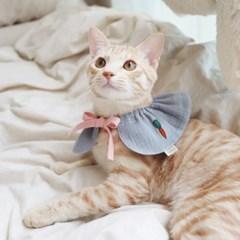 개달당 당근 순면 강아지케이프 고양이케이프