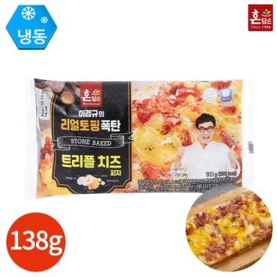 이경규의 리얼토핑 폭탄 트러플 치즈 피자 138g x 4개
