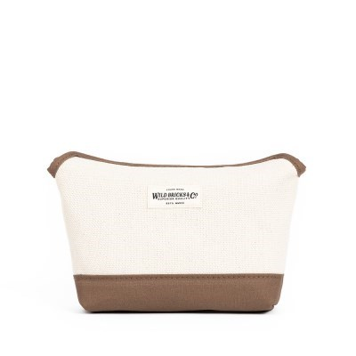 HEAVY CANVAS MAGNET POUCH (beige)