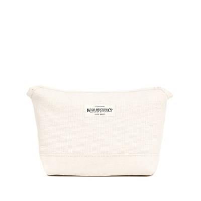 HEAVY CANVAS MAGNET POUCH (ivory)
