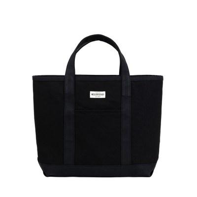 HEAVY CANVAS COAL BAG (black)