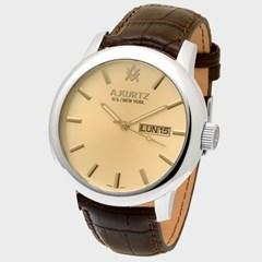 [AKURTZ] 에이커츠 AKZ005755 남성 가죽 손목시계