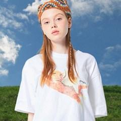 CATPID PIGMENT T-SHIRT WHITE