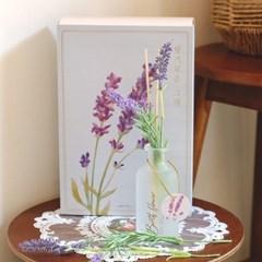 월간생일화지음 Ver.02-6월의꽃 라벤더 생일화 알러지프리 디퓨저