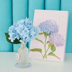 월간생일화지음 Ver.02-7월의꽃 수국 생일화 알러지프리 디퓨저