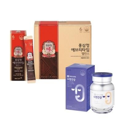 [정관장] 홍삼정 에브리타임 밸런스 30포+알파프로젝트 수면건강