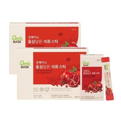 [정관장] 굿베이스 홍삼담은 석류스틱 (10mlx30포) 2박스