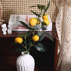 큐티 레몬 열매 조화_(2194882)