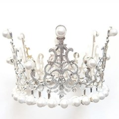 티아라 케이크 왕관