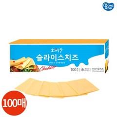동원 소와나무 슬라이스 치즈 100매