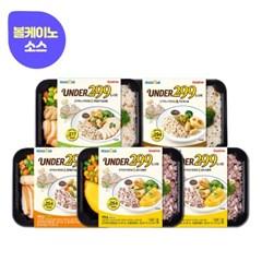 ★맵찔이는 가라★굽네 로드닭 UNDER299 볼케이노 도시락 4종 5팩
