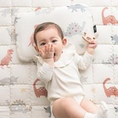 인견 아기 쿨매트 - 디노핑크
