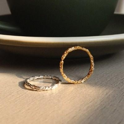 [silver 925] 앤틱 청크 기본 링 오픈 빈티지 은반지
