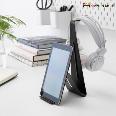 이케아 MOJLIGHET 헤드셋 겸 태블릿 거치대/휴대폰거치대