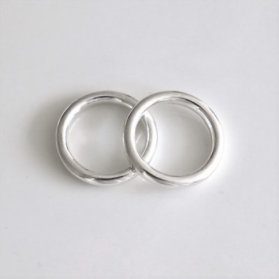 [Silver925] Bold ring(3mm)_(1543660)
