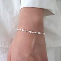 [Silver925] Rose bracelet_(1543665)