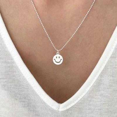 [Silver925] Smile necklace_(1545233)