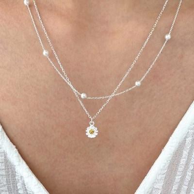 [Silver925] Dandelion necklace_(1546058)