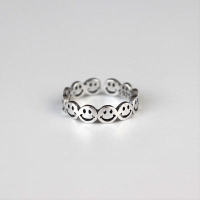 [Silver925] Smile cover ring_(1546062)