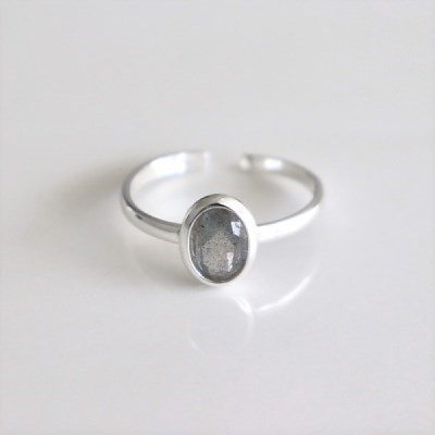 [Silver925] Labradorite ring_(1546065)