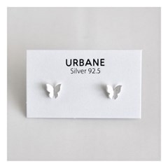 [Silver925] Matte butterfly earring_(1546070)