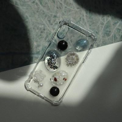 블랙 데이지 폰케이스 휴대폰케이스