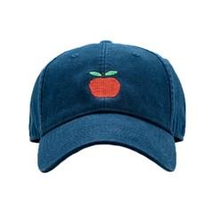 [Hardinglane]Adult`s Hats Apple on Navy