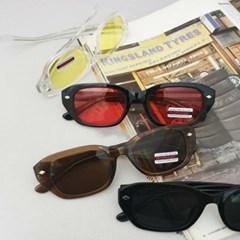 UV400 투명 데일리 가벼운 도수없는 패션 선글라스
