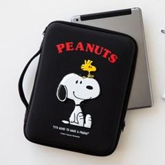 [Peanuts] 스누피 디지털 파우치 11인치_블랙