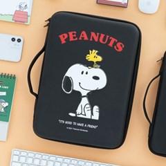 [Peanuts] 스누피 디지털 파우치 13인치_블랙