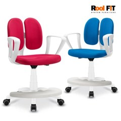 KF50 화이트듀얼 발받침 의자