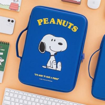 [Peanuts] 스누피 디지털 파우치 13인치_네이비
