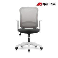 엘리트의자 2.0  패브릭 화이트바디-무회전중심봉