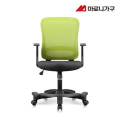 엘리트의자 2.0  패브릭 블랙바디-발받침