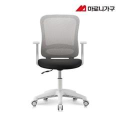 엘리트의자 1.0  패브릭 화이트바디-등고정
