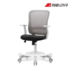 엘리트의자 1.0  패브릭 화이트바디-발받침