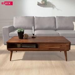 누크 아카시아원목 소파 테이블