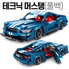 Sembo block 중국레고테크닉 머스탱 자동차 호환블럭 SY 8409 초등학