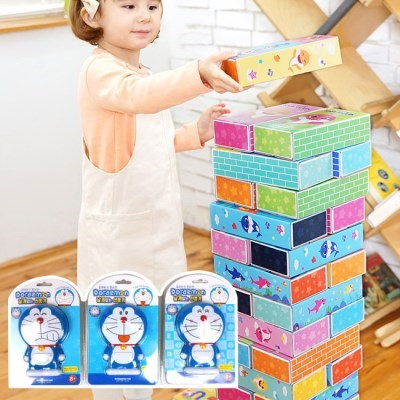 핑크퐁 아기상어 종이블럭50개입 종이벽돌 집콕놀이 유아동블럭