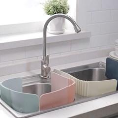 주방 설거지 물튀김 방지 물막이 2개 세트